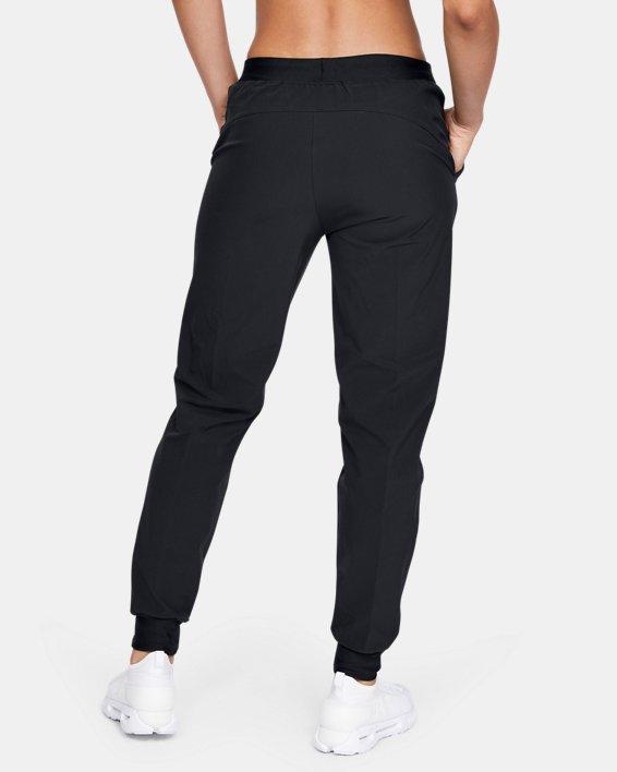 Women's UA Armour Sport Woven Pants, Black, pdpMainDesktop image number 2