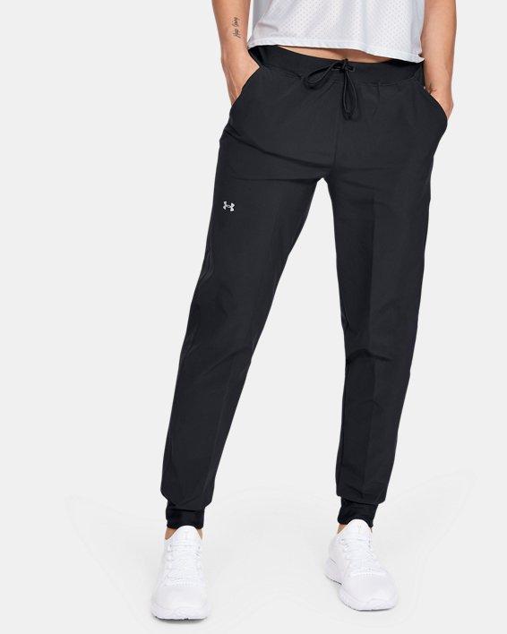 Women's UA Armour Sport Woven Pants, Black, pdpMainDesktop image number 0