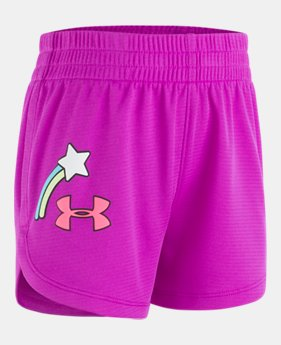 42cf532e805 Girls  Pre-School UA Shooting Star Shorts 1 Color Available  22