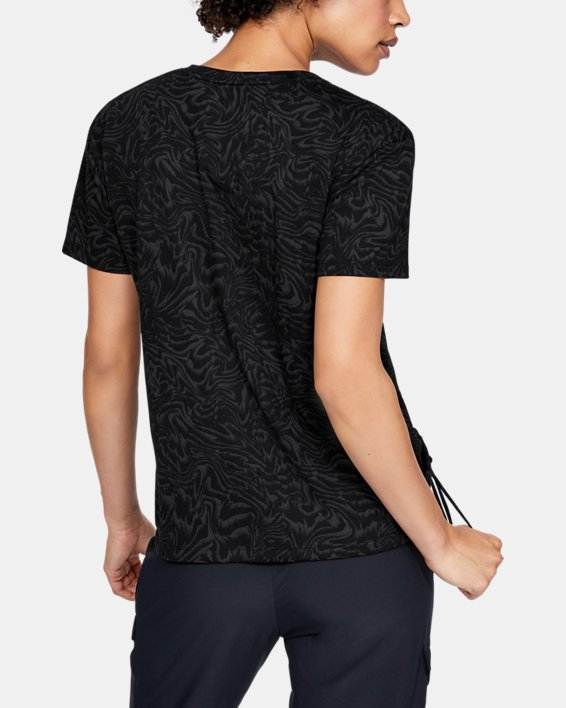 Women's UA Unstoppable Short Sleeve, Black, pdpMainDesktop image number 2