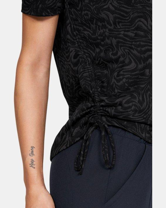 Women's UA Unstoppable Short Sleeve, Black, pdpMainDesktop image number 5