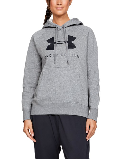 Women's UA Rival Fleece Sportstyle Graphic Hoodie