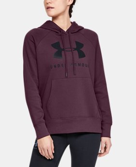 0e19153b New Arrival Women's UA Rival Fleece Sportstyle Graphic Hoodie 9 Colors  Available $50