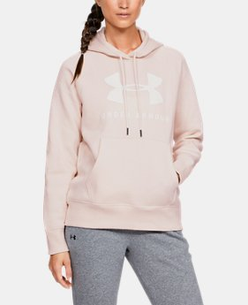 41437bab New Arrival Women's UA Rival Fleece Sportstyle Graphic Hoodie 9 Colors  Available $50