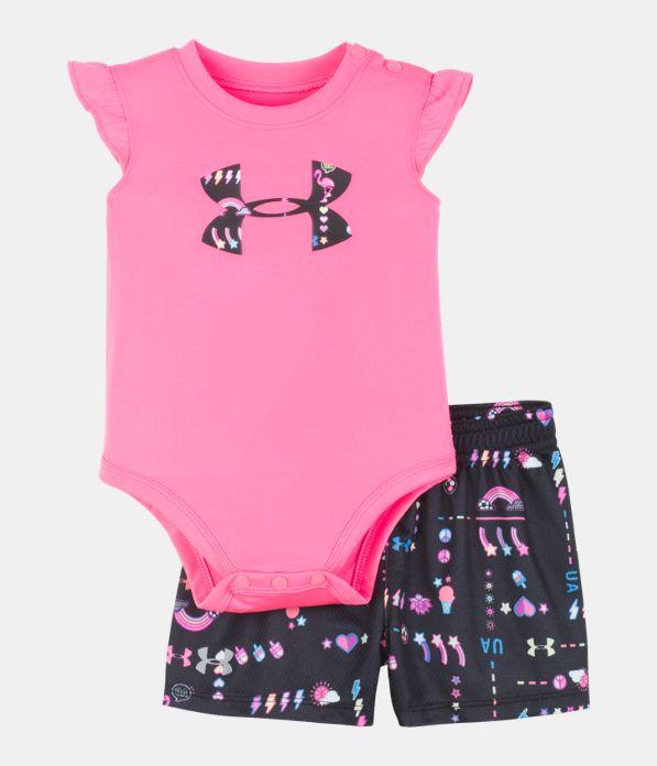 432a6335b7 Girls' Newborn UA Best Life Set