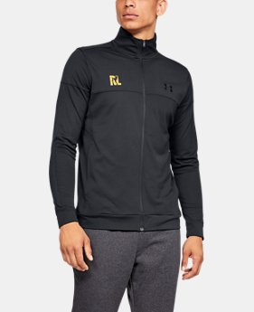 Men's UA Ray Lewis Pique Track Jacket  1  Color Available $60