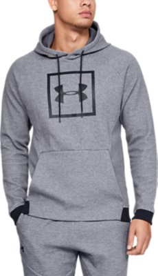 Under Armour Unstoppable Double Knit Pince Womens Hoody-Grey
