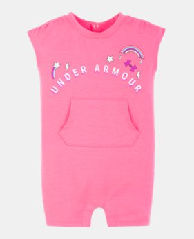 4acc9e858c Girls' Pink Newborn (Size 0M-9M) | Under Armour US