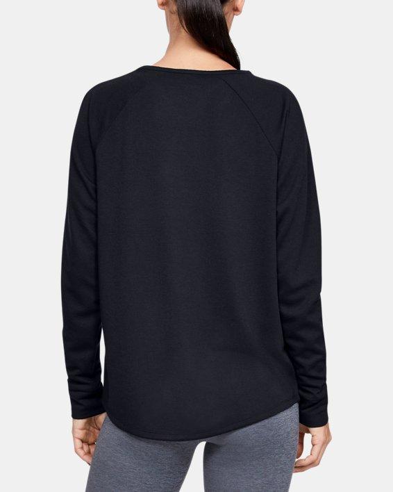 Women's ColdGear® Infrared Long Sleeve, Black, pdpMainDesktop image number 2