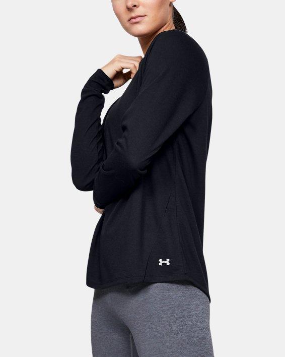 Women's ColdGear® Infrared Long Sleeve, Black, pdpMainDesktop image number 0
