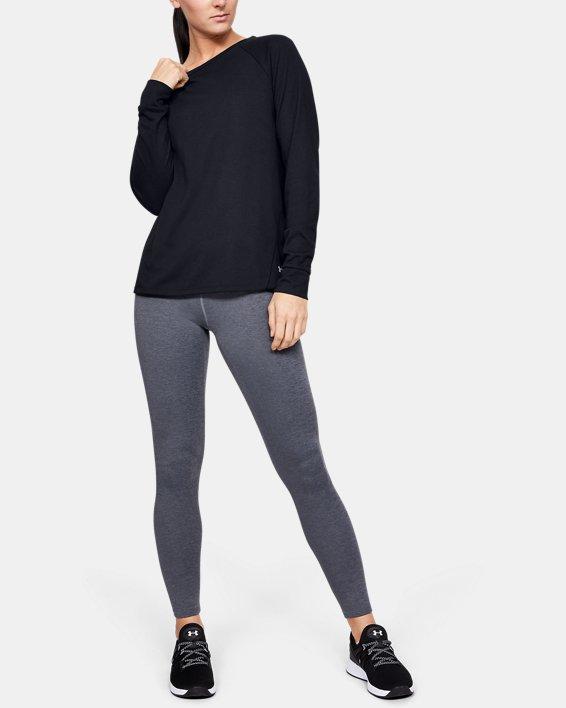 Women's ColdGear® Infrared Long Sleeve, Black, pdpMainDesktop image number 1