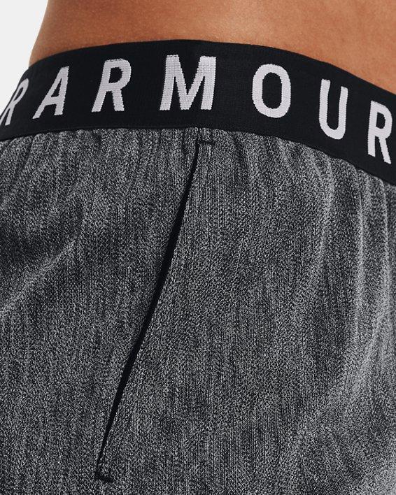 Women's UA Play Up Shorts 3.0 Twist, Black, pdpMainDesktop image number 5
