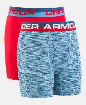 cac2cc7e0bc Boys' UA Original Series Twist Boxerjock® 2-Pack 2 Colors Available $20. 2  Colors Available. PETROL BLUE; Dust