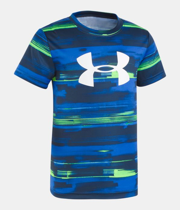 32082a19c0 Boys' Toddler UA Latitude Logo Short Sleeve