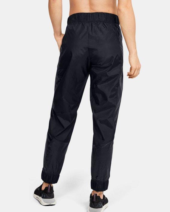 Women's UA Metallic Woven Pants, Black, pdpMainDesktop image number 2