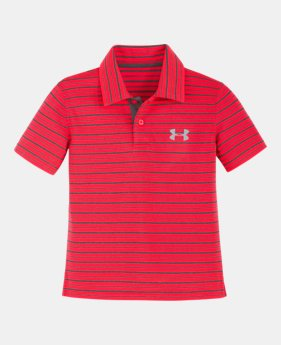 cb6f81547f6b7 Boys  Infant UA Champion Stripe Polo 2 Colors Available  27