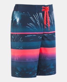 526be54593 Boys' UA Dynamite Half Elastic Waist Boardshorts 1 Color Available $42