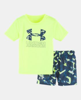 Boys  Infant UA Knockout Multi Big Logo Set 1 Color Available  30 908bf6075a6