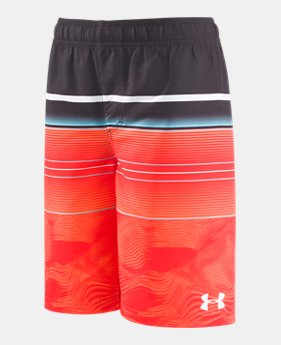 6fa34d4969 Boys' Pre-School UA Static Stripe Volley 2 Colors Available $36