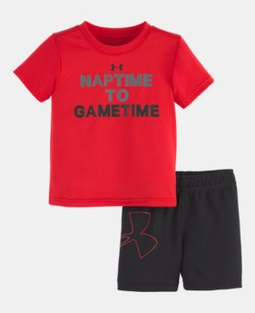 0c9ea9720c30ef New Arrival Boys  Infant UA Nap Time To Game Time Set 1 Color Available  30