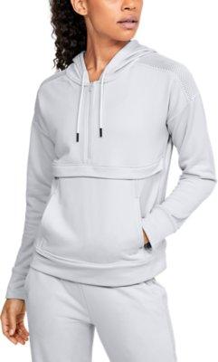 Under Armour Womens UA Tech Terry Full Zip Hoodie Jacket