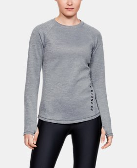 b72f7524 New Arrival Women's ColdGear® Armour Heather Long Sleeve 1 Color Available  $60