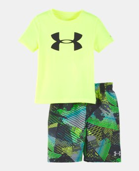 afad5c2d5361e New Arrival Boys  Infant UA Triangle Camo Volley Set 1 Color Available  36