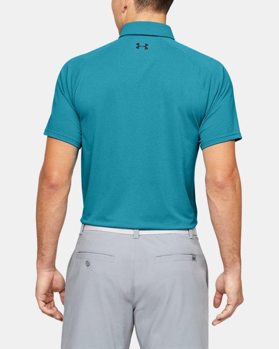 Men's UA Vanish Polo, Blue, pdpMainDesktop image number 2