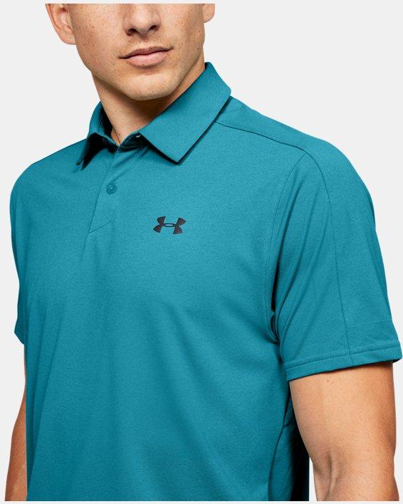 Men's UA Vanish Polo, Blue, pdpMainDesktop image number 5