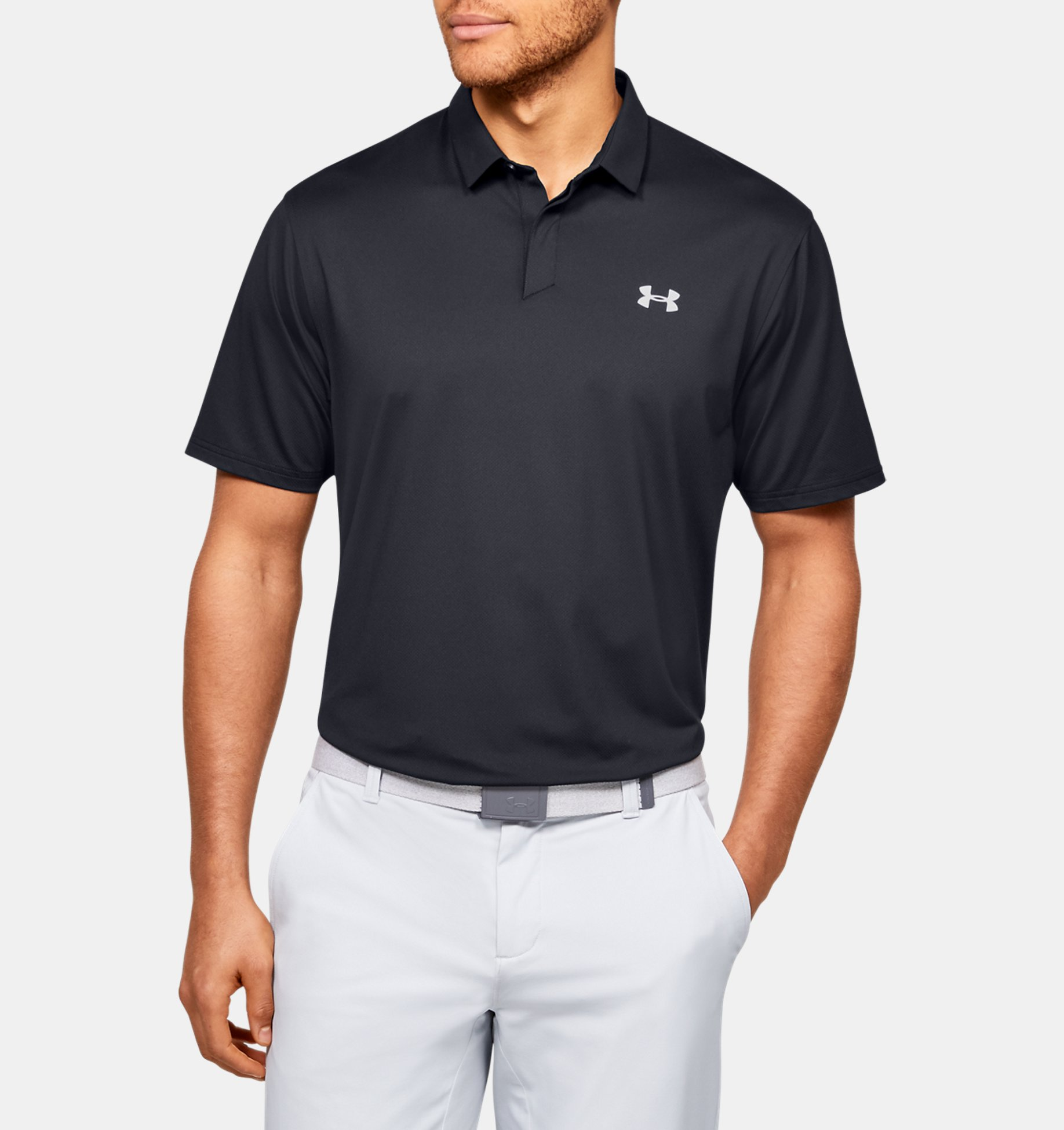 Underarmour Mens UA Iso-Chill Printed Polo