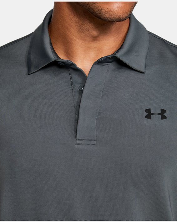 Men's UA Playoff 2.0 Blocked Polo, Gray, pdpMainDesktop image number 5