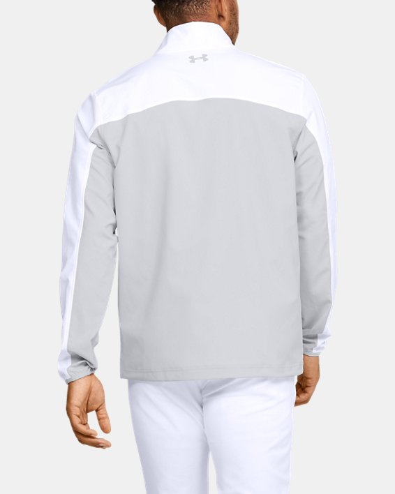 Men's UA Storm Windstrike Full Zip, White, pdpMainDesktop image number 2