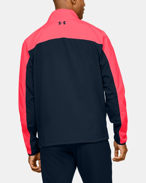 Men's UA Storm Windstrike Full Zip, Red, pdpMainDesktop image number 2