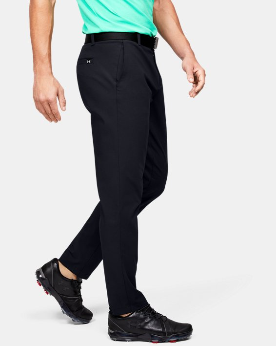 Men's UA Iso-Chill Tapered Pants, Black, pdpMainDesktop image number 3