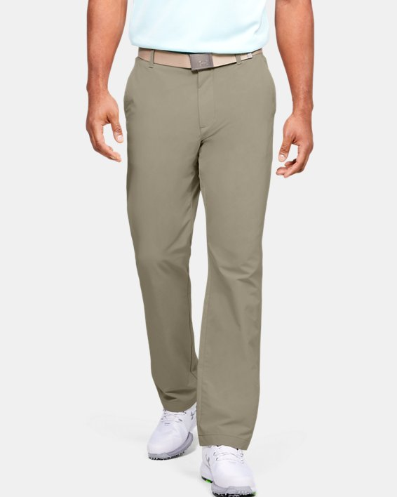 Men's UA Tech™ Pants, Brown, pdpMainDesktop image number 0