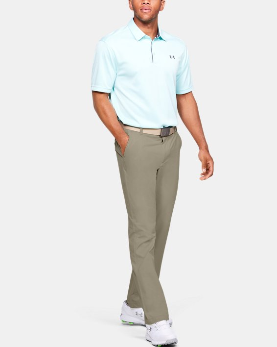 Men's UA Tech™ Pants, Brown, pdpMainDesktop image number 1