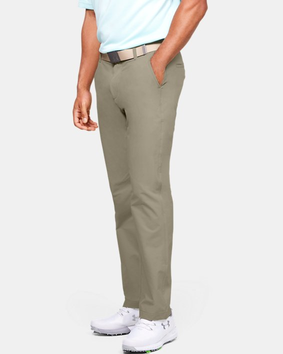 Men's UA Tech™ Pants, Brown, pdpMainDesktop image number 3