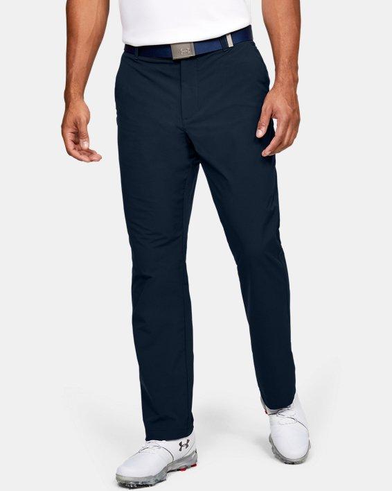 Men's UA Tech™ Pants, Navy, pdpMainDesktop image number 0