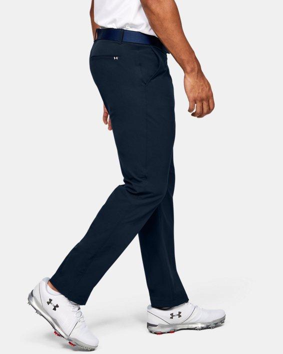 Men's UA Tech™ Pants, Navy, pdpMainDesktop image number 3