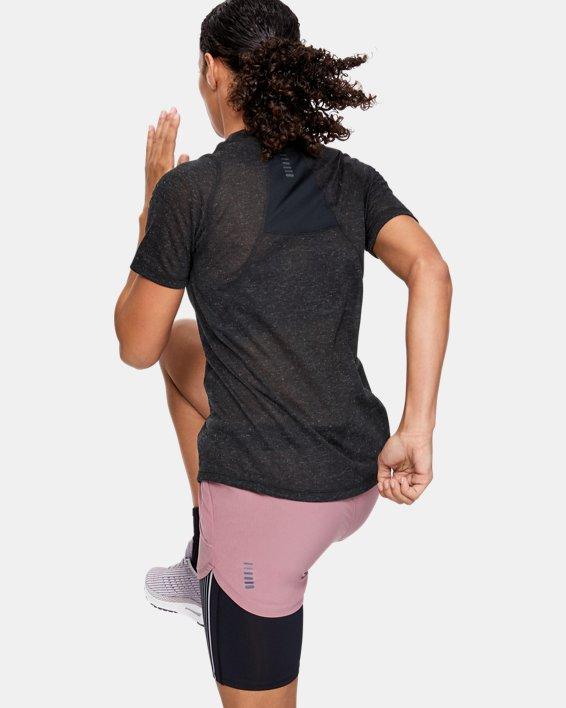 Women's UA Breeze Short Sleeve, Black, pdpMainDesktop image number 2