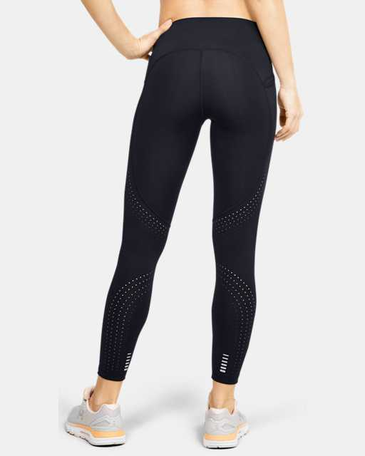 Legging court UA Qualifier Speedpocket Perforated pour femme