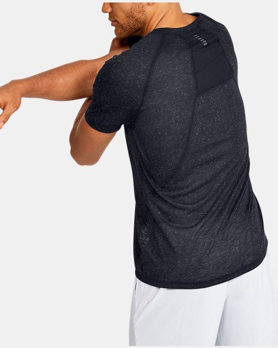 Men's UA Breeze Short Sleeve T-Shirt, Black, pdpMainDesktop image number 2