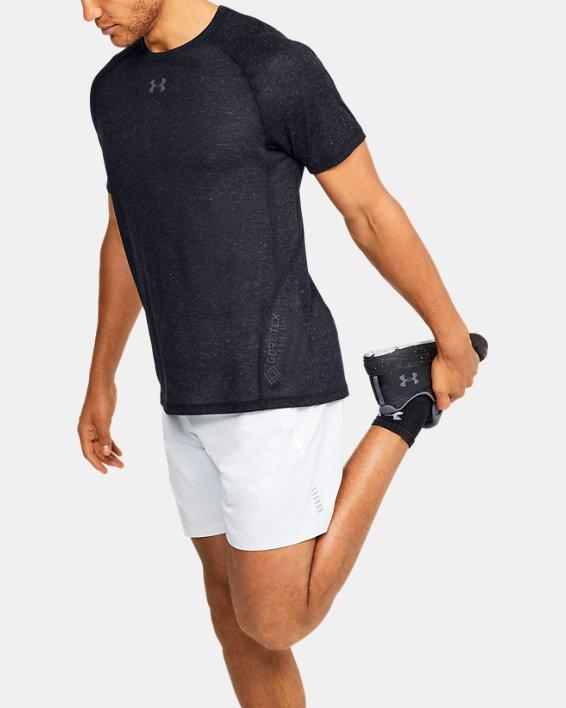 Men's UA Breeze Short Sleeve T-Shirt, Black, pdpMainDesktop image number 0