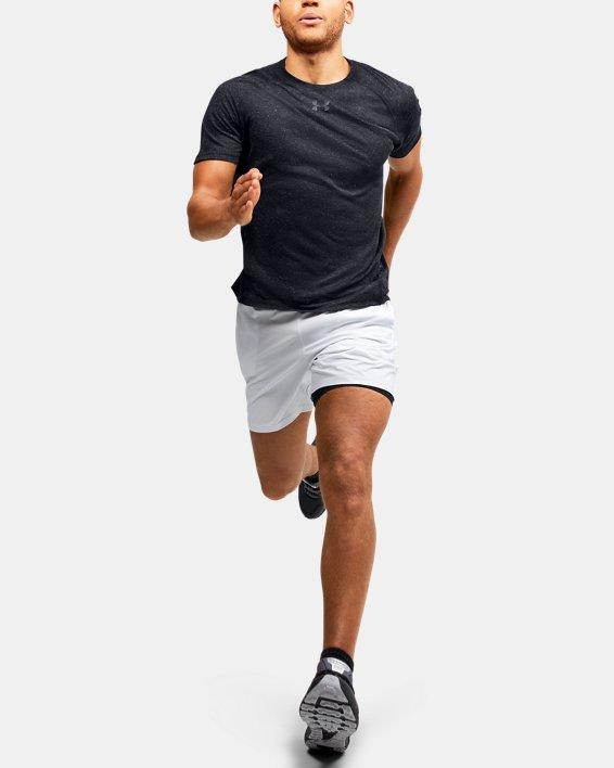 Men's UA Breeze Short Sleeve T-Shirt, Black, pdpMainDesktop image number 1
