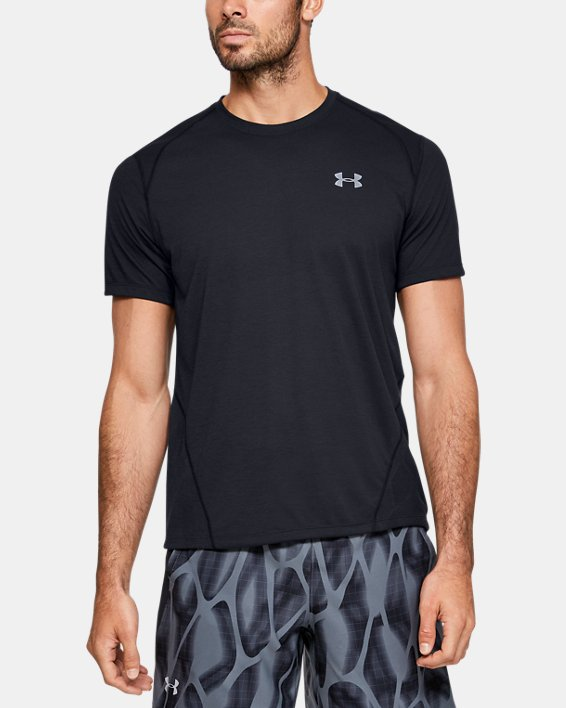Men's UA Streaker 2.0 Shift Crew, Black, pdpMainDesktop image number 1