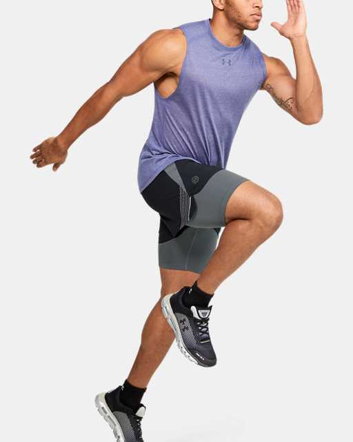 Men's UA RUSH™ Run 2-in-1 Shorts