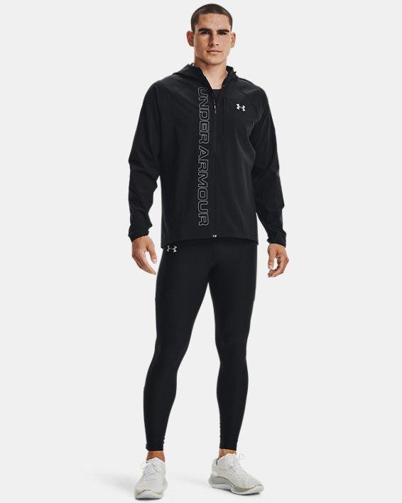Men's UA Qualifier Outrun The Storm Jacket, Black, pdpMainDesktop image number 1