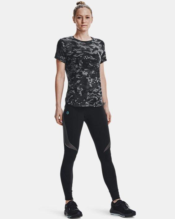Women's UA RUSH™ Run Stamina Tights, Black, pdpMainDesktop image number 1