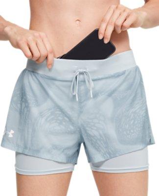 New Under Armour UA Women/'s Speedpocket Shorts