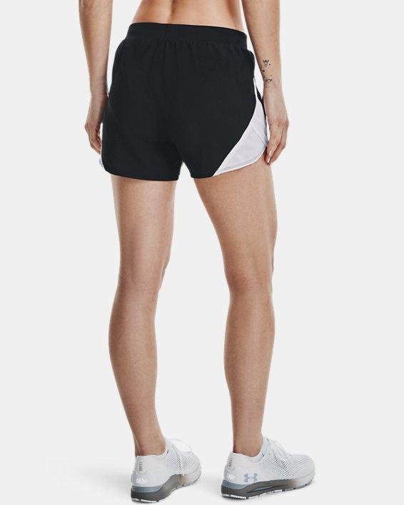 Women's UA Fly-By 2.0 Shorts, Black, pdpMainDesktop image number 2